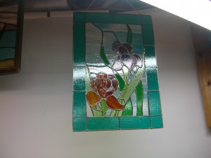 stained glass panel 010