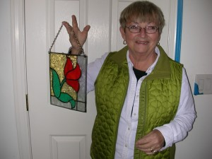 stained glass pieces 004