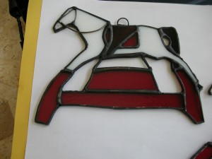 toy town horse stained glass & fusing pictures 002