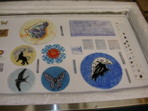 kiln pictures (night lights powder plates) 016