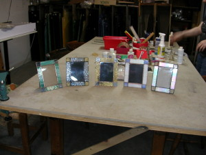 suncatchers and pictures frames 011