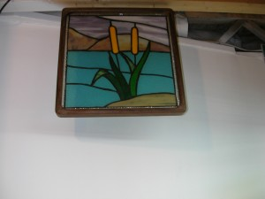 stained glass panel 009
