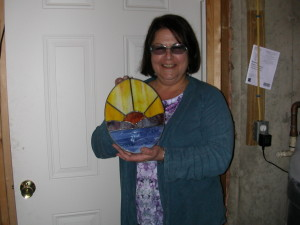 Terri and kiln pictures 001