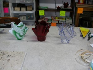 stained glass vases 001