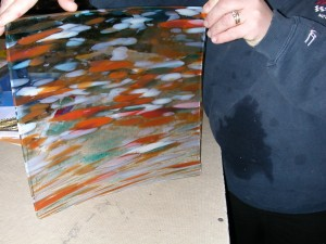 stained glass pieces 006