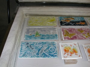 Birds and kiln texture molds colored 006